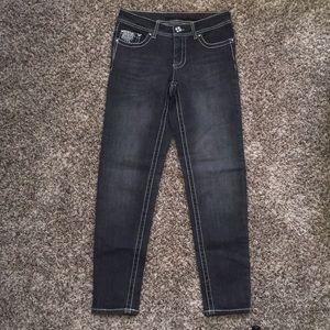 NWOT Faded Glory Dark Grey Skinny Jeans